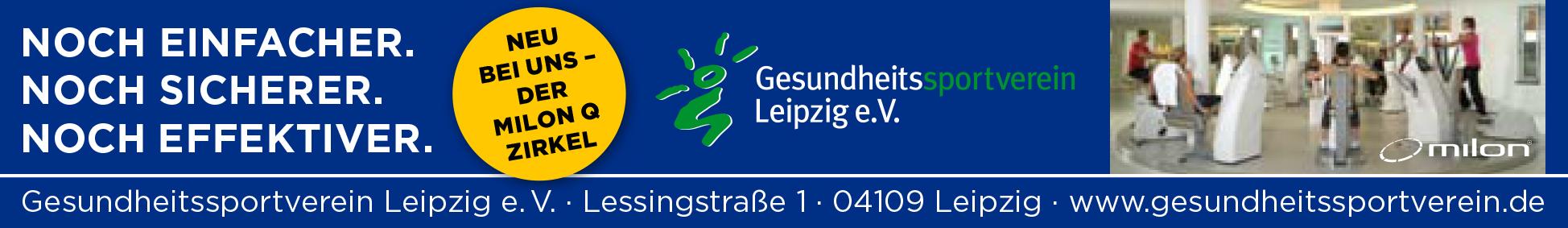 neuer Milon-Zirkel im Gesundheitssportverein Leipzig
