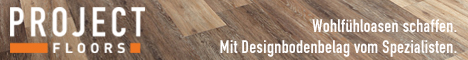 Banner PROJECT FLOORS GmbH