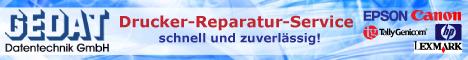 Reparatur von Druckern bei GEDAT